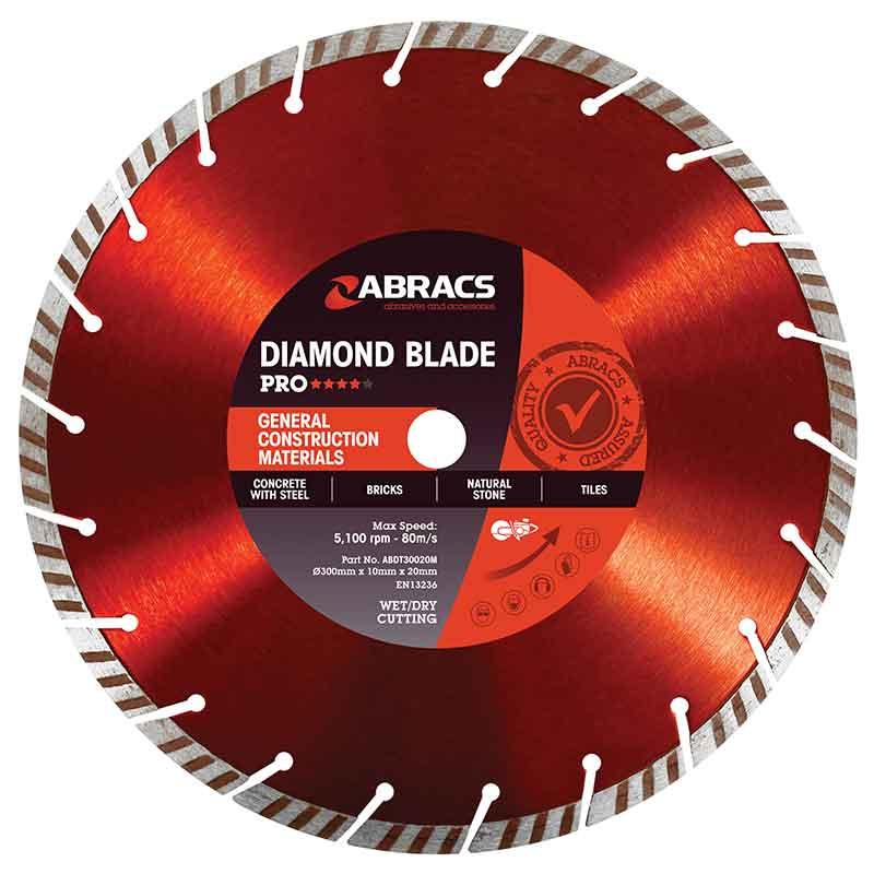 Abracs GCM Pro Diamond Blade